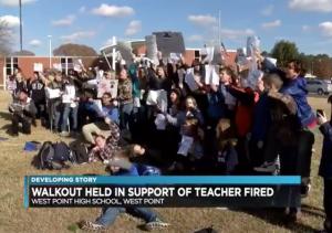 https://www.nbc12.com/2018/12/07/students-hold-walkout-after-west-point-teacher-fired/?fbclid=IwAR12_HYZhECDOP5FeyRnm_Q7-x-PJTfoT3KQiJ6RTYlkuPiEgKImmlQuL38
