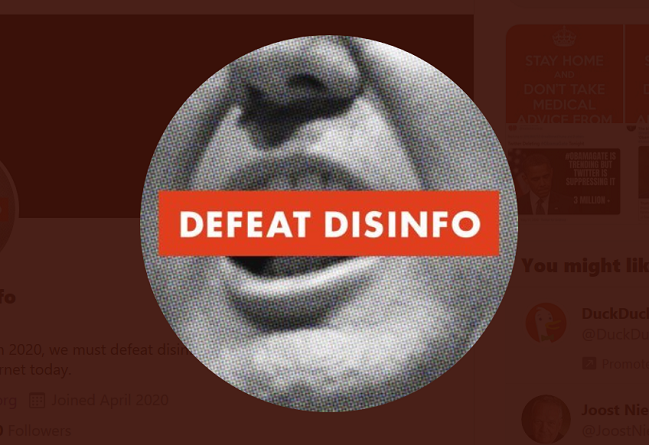 https://twitter.com/defeatdisinfo