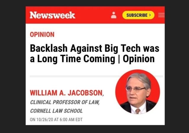 https://www.newsweek.com/backlash-against-big-tech-was-long-time-coming-opinion-1541487